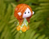 Little Woodland Fairy glass bead