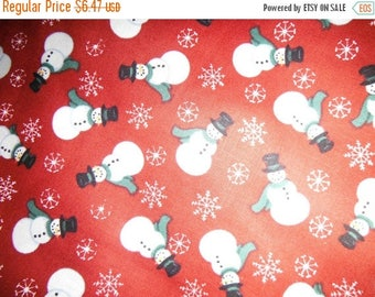 Fun Snowman Fabric--Great for Quilting n more