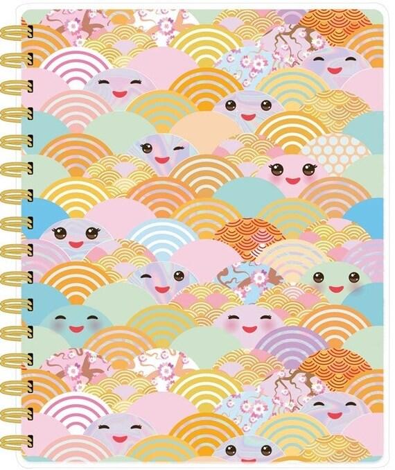 Cute spiral bound planner