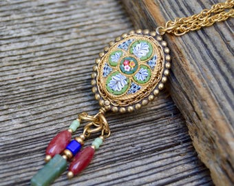Artisan Mosaic Necklace