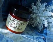 Frostbloom (body butter, soap whip, sugar scrub,solid perfume--jasmine, peppermint)