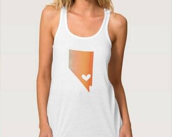 Nevada Heart Tank Top