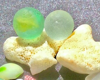 Sea Glass Marbles Etsy