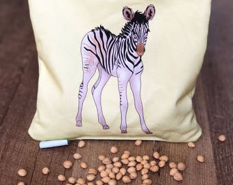 Baby Gift Idea - Christmas Gift for Baby Girl, Baby Boy - Zebra Cherry Pit Heating Pad - Kids Cherry Pit Pillow - Animal Cherry Pit Pack