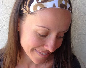 Pilates Headband - Yoga - Headband - Workout Headband - Fitness Headband - Running Headband - Wide Headband - Non Slip Headband - Spandex