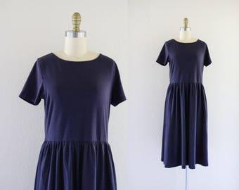 indigo jersey market dress / m