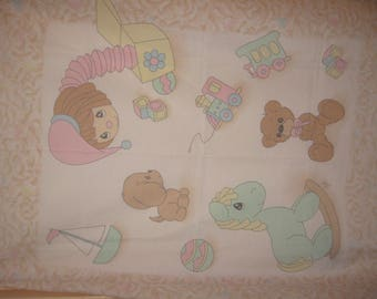 Precious Moments Baby Quilt Panel