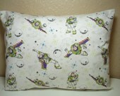 "RESERVED For YAI C. / Travel Pillowcase / 12"" X 16""  Pillow Cover / BUZZ Lightyear Pillowcase"