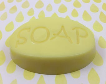 RESERVED for Sandi   20 Goat's Milk S.O.A.P Bar UnScented 3 Yellow Sun Dried Cotton   Guest Size Soap Bar   Travel Size Soap