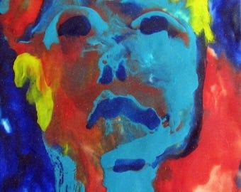 Blue Woman #1
