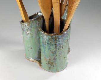 ceramic utensil holder utensil holder pot stoneware utensils