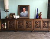 Reserve-Tim-MID CENTURY MODERN Credenza, Media Stand or Stereo Cabinet (Los Angeles)