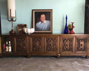 MID CENTURY MODERN Credenza, Media Stand or Stereo Cabinet (Los Angeles)