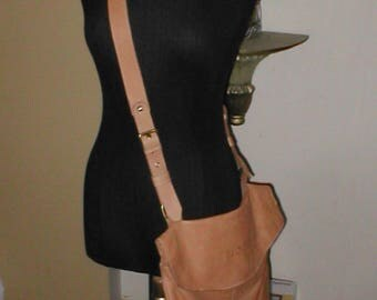 AVORIO  Leather  Cross-Body Bag Purse made in Italy