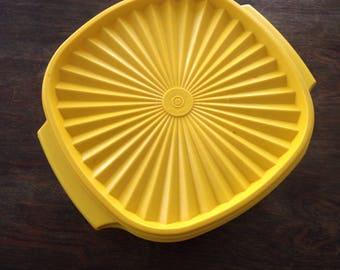Vintage Tupperware yellow