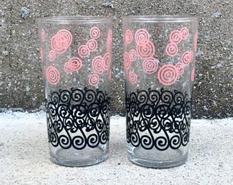 Pair of Mid Century Libbey Glasses