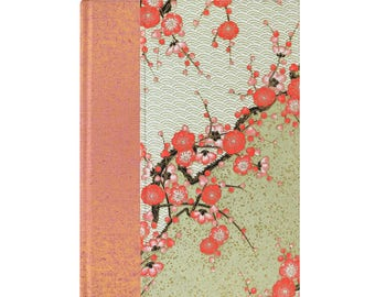 Journal Blank Paper Coral Plum
