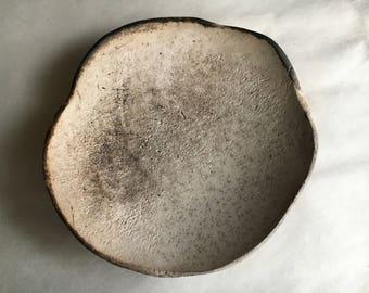 smoked earthenware bowl