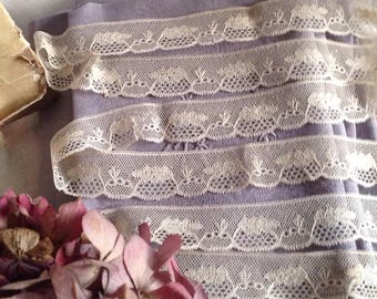 Vintage Lace Trim. Cream Lace Trim / Valenciennes Style Lace 3yd Dolls Bears & Vintage Wedding, Home Furnishings, Sewing Supplies