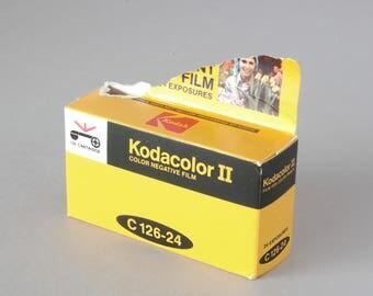 Factory Sealed Kodak Kodacolor C126-24 Cartridge Film