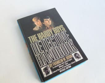 Hardy Boys Detective Handbook by Franklin W Dixon Grosset and Dunlap 1972 Hardcover