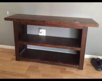 PAINT to ORDER Sofa Table / Bookcase ~ ASCP ~ San Diego