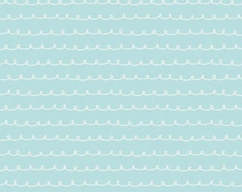 Dolly Curly Blue from the Little Dolly collection by Elea Lutz for Penny Rose / Riley Blake Fabrics