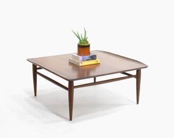 Mid Century Modern Baumritter Square Coffee Table