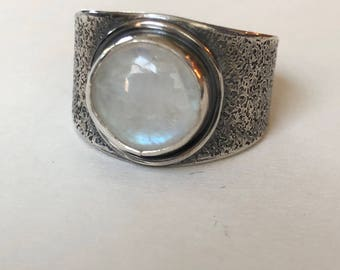 Moonstone Ring- Moonstone ring, June birthstone, Moonstone jewelry
