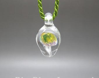 Jellyfish - Lampwork Pendant
