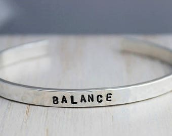 balance cuff bracelet