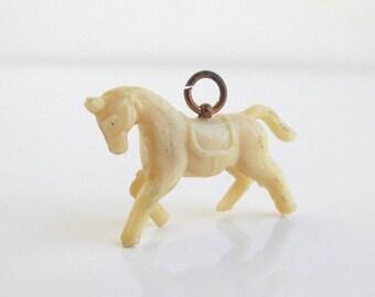 Vintage Celluloid Horse Charm