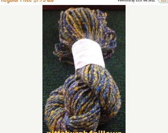 CHRISTMAS IN JULY Newly Listed - Potosi Yarn - Sheep Wool Yarn - 78 Yards - 2.1 Ozs