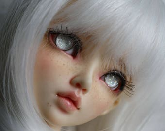 BJD eyes Doll eyes Hand made available in 12/14/16/18/20/22/24mm Snowdrop made to order