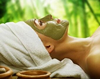Small Facial Masks Combo Set - 5 oz Dead Sea Mineral Mud - 3 oz Seaweed Facial Masks - Spa Collection