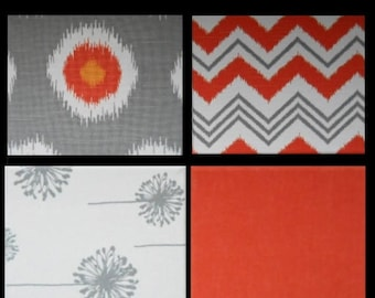 STARVING ARTIST Sale Fabric Canvas Tableau -Fabric covered canvases Mix and Match Patterns