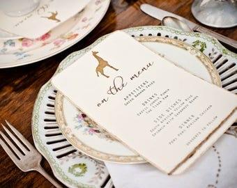 Printable Safari Theme Menu, Vintage Desert Wedding Menu, African Giraffe Theme Party, Custom Menu Template, Safari Baby Shower Menu Cards