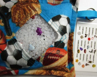 I Spy Bag Toy Game, Sports, Boys contents, car travel toy, Eye Spy Game, seek and find, sensory occupational therapy, busy bag, vacation toy