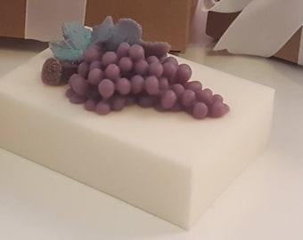 Grape soap bar - stocking stuffers for women - stucking stuffers for kids - stocking stuffer for teen girl - gift for women - gift for her
