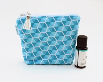 Essential Oil Storage Pouch - Essential Oil Organization - Zipper Pouch - Travel Bag - Birthday Gift for Her - Ready to Ship