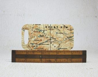 Rocky Mountain National Park Colorado Luggage Tag Backpack Tag Unique Gift for Hiker Explorer Traveler
