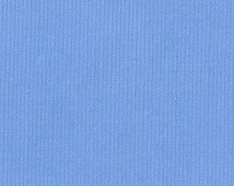 Fabric Finders Cornflower Blue Corduroy Fabric – 21 wale - fine corduroy solid - cotton sewing quilting fabric - choose your cut