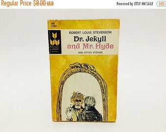 SUMMER BLOWOUT Vintage Horror Book Dr. Jekyll and Mr. Hyde and Other Stories by Robert Louis Stevenson 1966 Classics