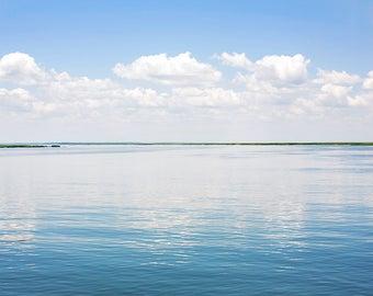 Cumberland River Reflections- Fine Art Photograph, ocean, atlantic, landscape, room decor, wall art, travel photography, cumberland river