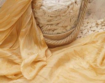 Women's silk scarf, bohemian scarf