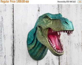 ON SALE T-Rex Dinosaur Head~Jurassic~Dinosaur Wall Decor