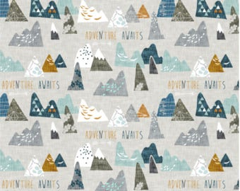 Adventure Awaits Bedding, Boy Designs, Woodland Nursery Bedding, Sheet, Changing Pad Cover, Blanket, Personalized Blanket,  Multiple Colors