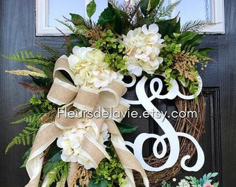 BEST SELLER! Farmhouse wreaths, Front Door Wreaths, Spring Door Wreaths, Spring Wreath for Door, Grapevine Wreath, Fall Wreaths