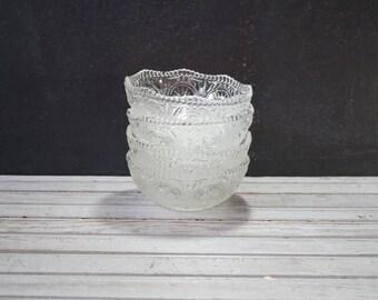 Reserved-Glass Brockway Bowls