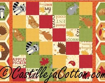 Autumn Diagonal Squares Placemat Quilt ePattern, 4455-5e, autumn placemat, placemat quilt pattern, digital download, fat eighth friendly